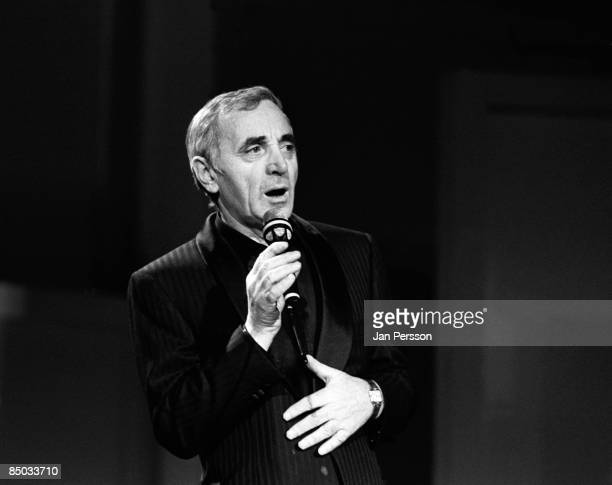 Photo of Charles Aznavour 3 Charles Aznacour Copenhagen 1988