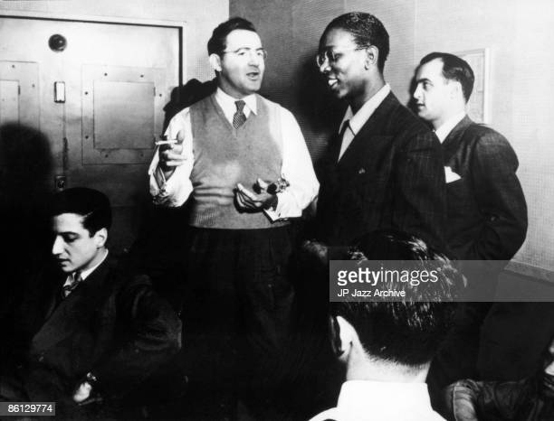 OUT Photo of Charlie CHRISTIAN and Teddy WILSON and Benny GOODMAN LR Teddy Wilson Benny Goodman Charlie Christian
