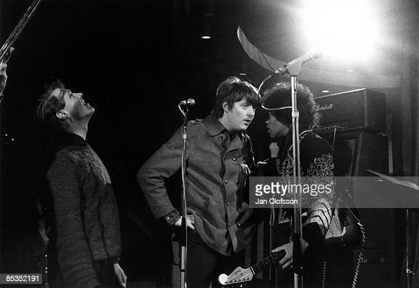 MARQUEE Photo of Chas CHANDLER and Jimi HENDRIX Performing ive on stage with Chas Chandler