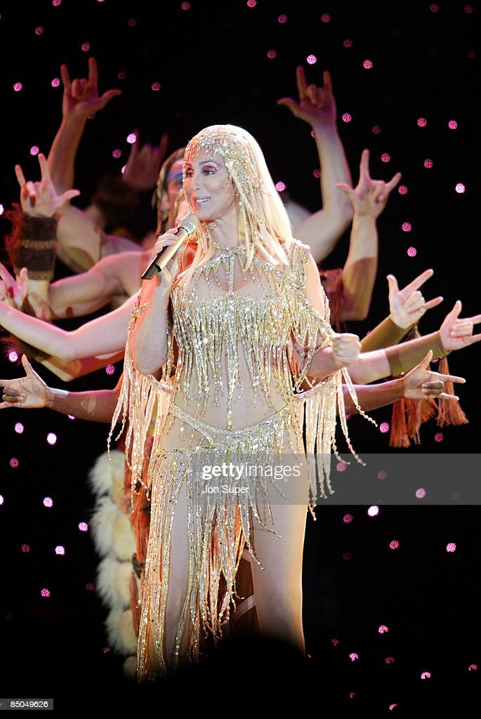 ARENA Photo of Cher, Cher plays the Manchester Evening News Arena, .... Pic Jim Sharp
