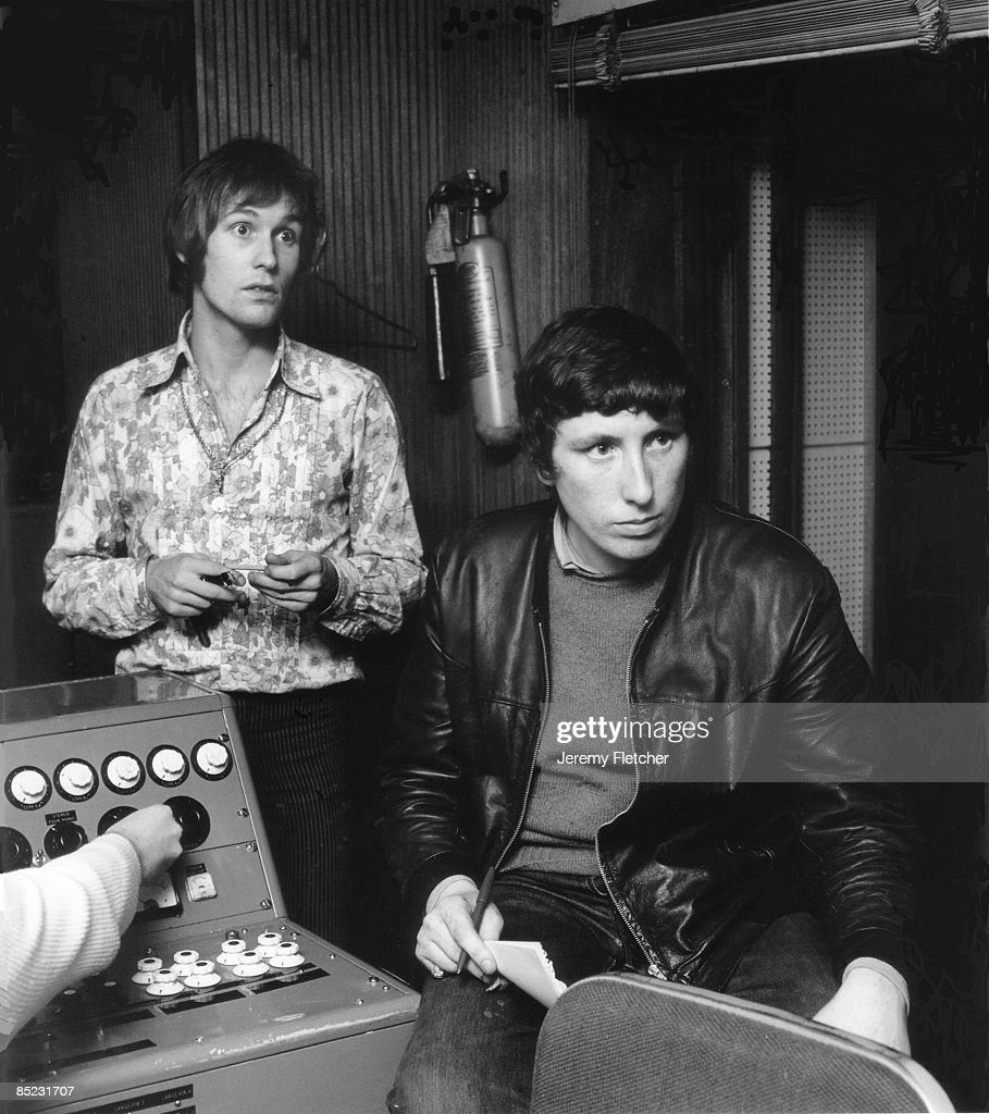 Photo Of Chris Farlowe And Mike D Abo Recording Handbags Gladrags