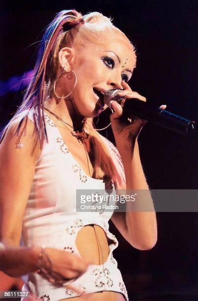 Photo of Christina AGUILERA; live at the Universal Amphitheatre