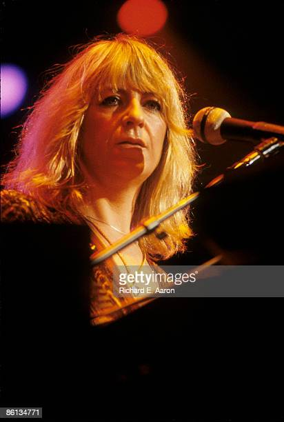 Photo of Christine McVIE and FLEETWOOD MAC Christine McVie performing live onstage