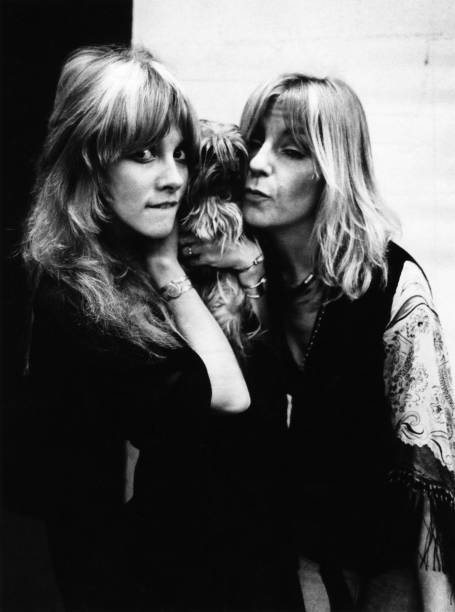 Photo of Christine McVIE and Stevie NICKS and FLEETWOOD MAC