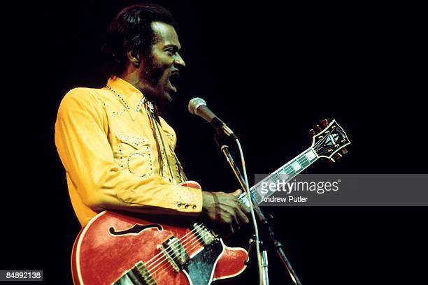 Photo of Chuck BERRY Chuck Berry performing on stage