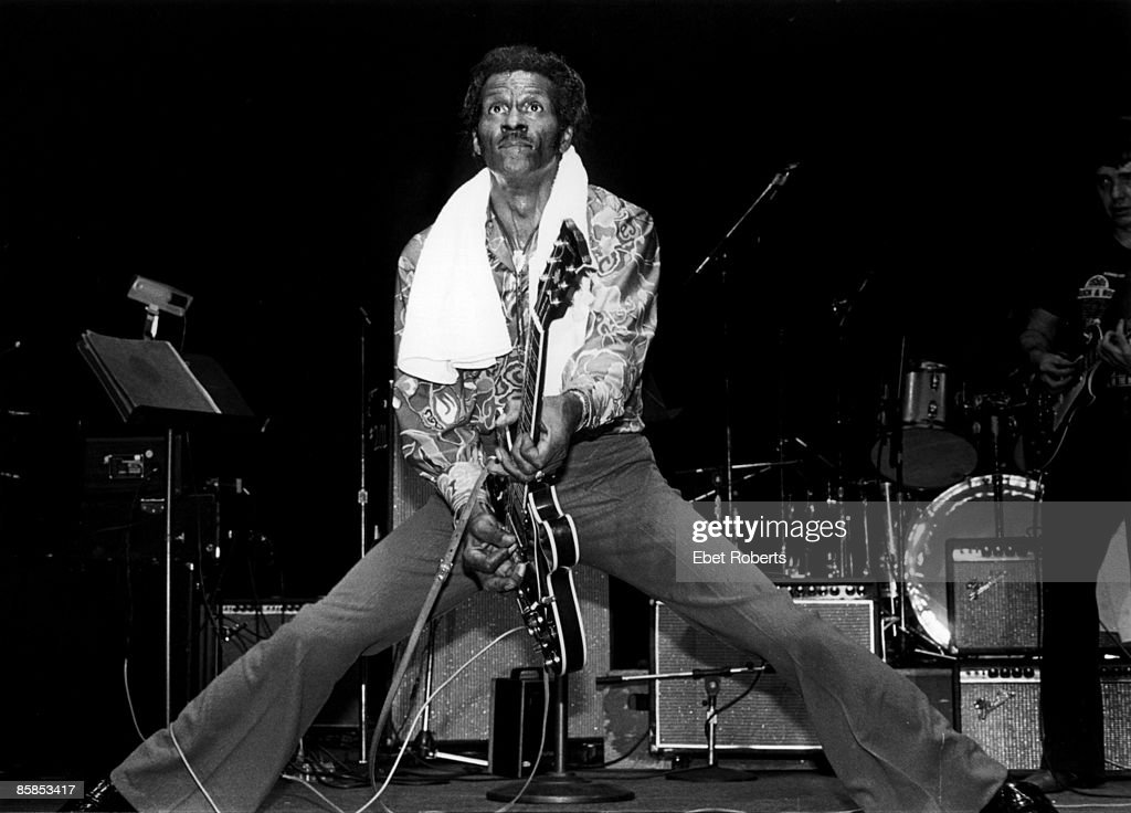 Photo of Chuck BERRY : News Photo