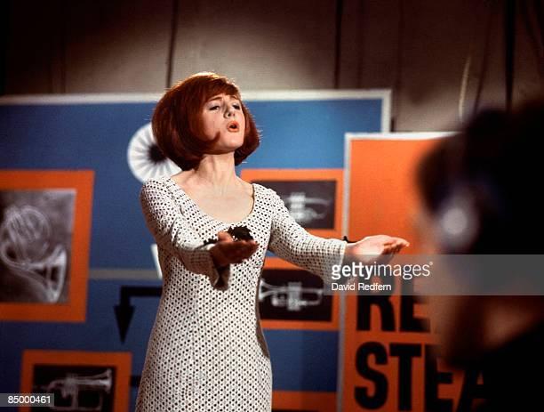 Photo of Cilla BLACK, performing at Television House, Kingsway