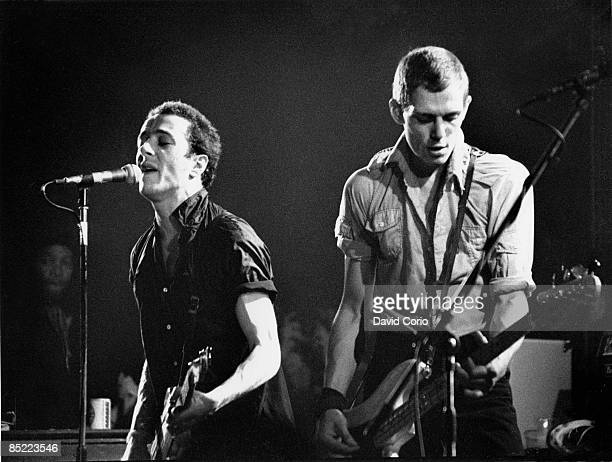 ICA Photo of CLASH The Clash at the ICA London 1980