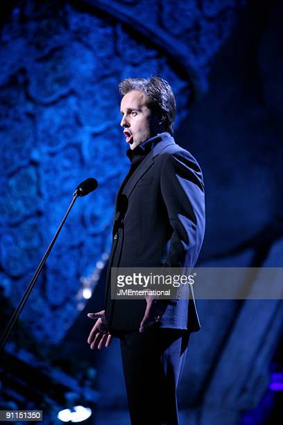 HALL Photo of CLASSICAL BRIT AWARDS and Alfie BOE performing live onstage at the Classical Brit Awards