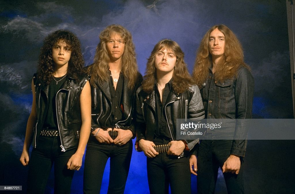 Photo of Cliff BURTON and METALLICA and Kirk HAMMETT and James HETFIELD and Lars ULRICH : News Photo