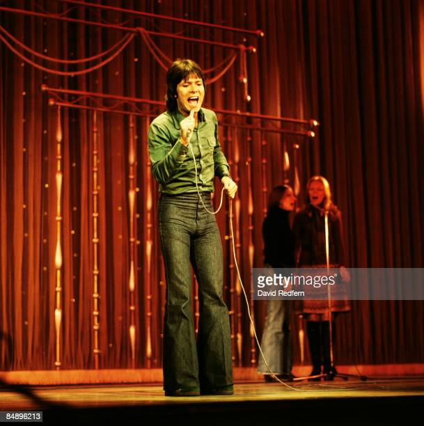 SHOW Photo of Cliff RICHARD Cliff Richard performing on stage full length