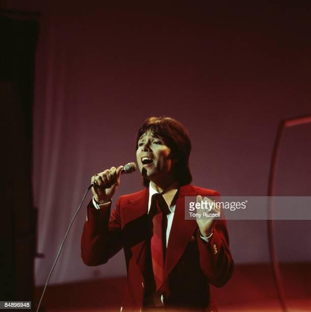 Photo of Cliff RICHARD Cliff Richard performing on the Nana Mouskouri tv show