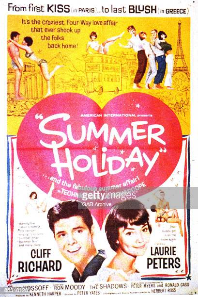 Photo of Cliff RICHARD Film poster for Summer Holiday