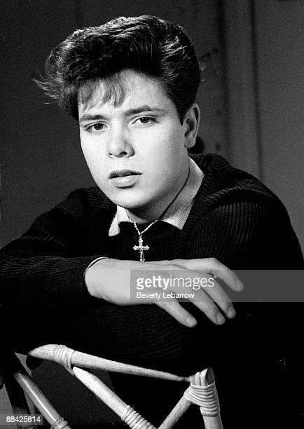 Photo of Cliff RICHARD posed studio c1958/1959