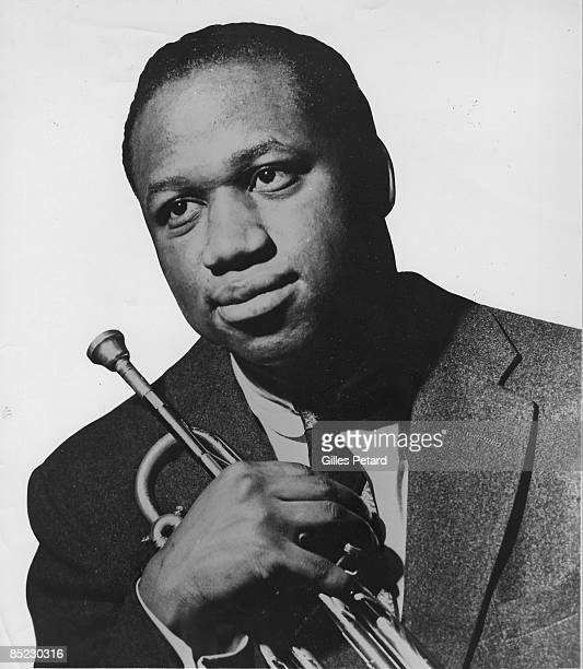 Photo of Clifford BROWN Posed portrait of Clifford Brown