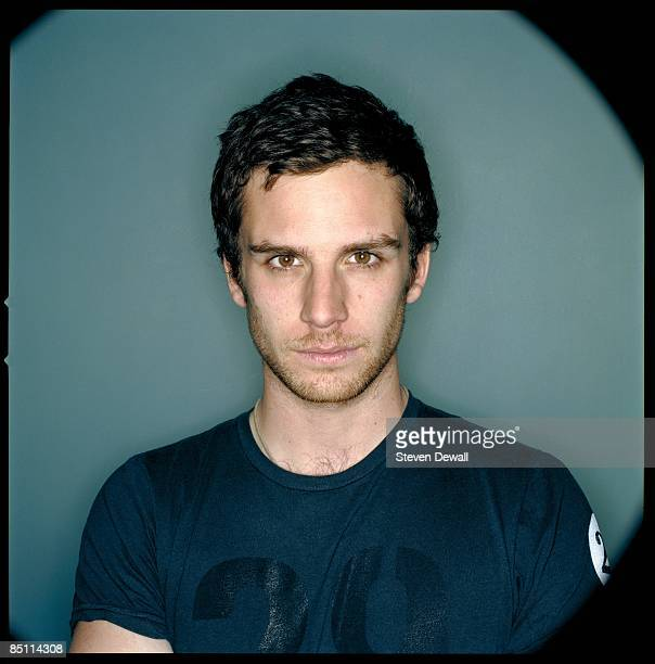 CHICAGO Photo of COLDPLAY and Guy BERRYMAN Posed studio portrait of Guy Berryman