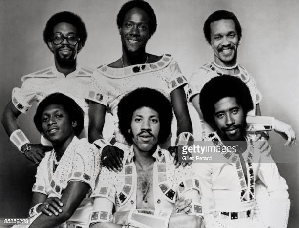 Photo of COMMODORES Back Walter Orange Ronald La Pread and Milan Williams Front Thomas McClary Lionel Richie and William King