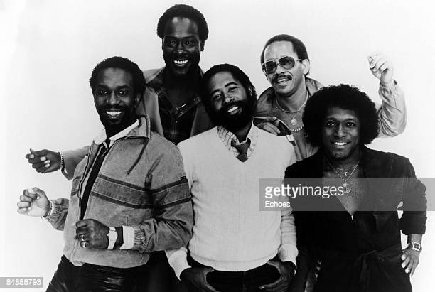 Photo of COMMODORES posed group shot