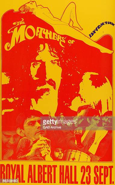 Photo of CONCERT POSTERS and Frank ZAPPA Poster for Royal Albert Hall show