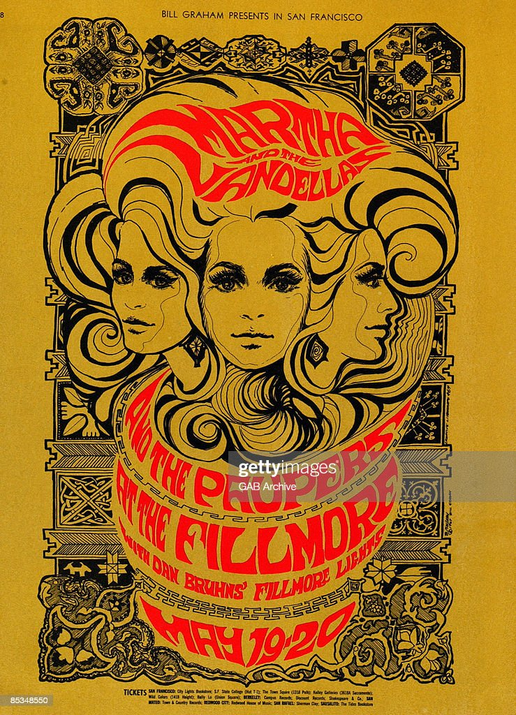 Rock On: Cool Vintage Concert Posters