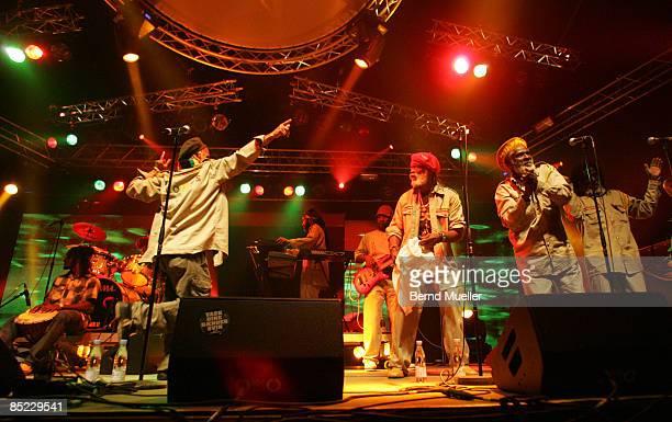 FESTIVAL Photo of CONGOS Musik music Rock Pop Rock n roll Reggae live in concert live on stage Roskilde Music Festival 2007 Denmark DSnemark The...