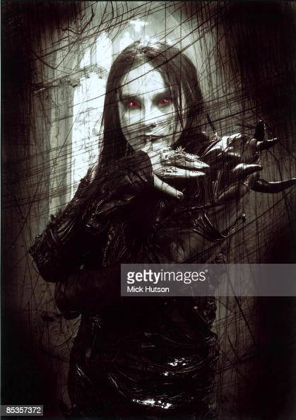 Photo Of Cradle Of Filth And Dani Filth Posed Portrait Of