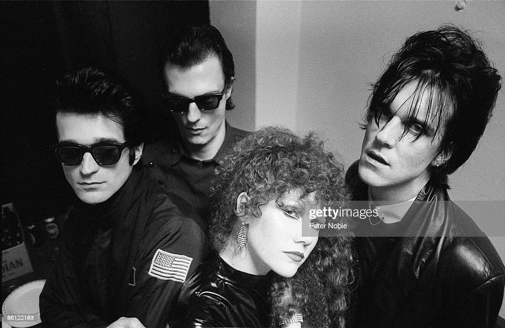 Photo Of CRAMPS And Lux INTERIOR And POISON IVY And Nick KNOX And Ike KNOX;