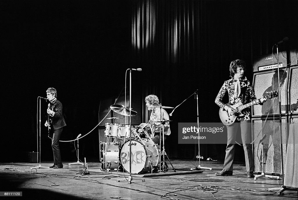 Photo of CREAM and Ginger BAKER and Jack BRUCE and Eric CLAPTON : News Photo