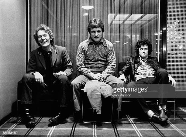 Ginger Baker Jack Bruce Eric Clapton posed group shot