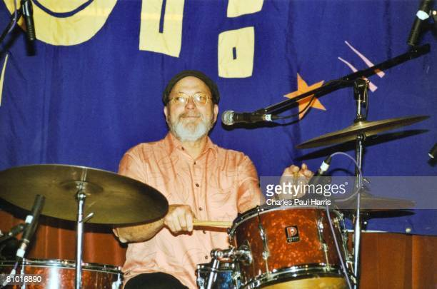 Photo of Crickets Jerry Allison at the Rhythm Riot Camber East Sussex 2002