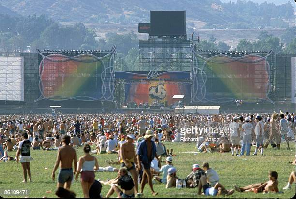 Photo of CROWDS and FESTIVALS and US FESTIVAL; 5 Day festival in San Bernardino, California organised by Steve Wozniak of Apple Computers