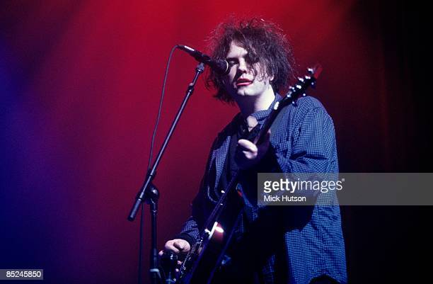 AWARDS Photo of CURE and Robert SMITH Robert Smith performing in soundcheck