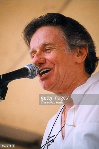 Photo of Dale Hawkins at the New Orleans Jazzfest 1999