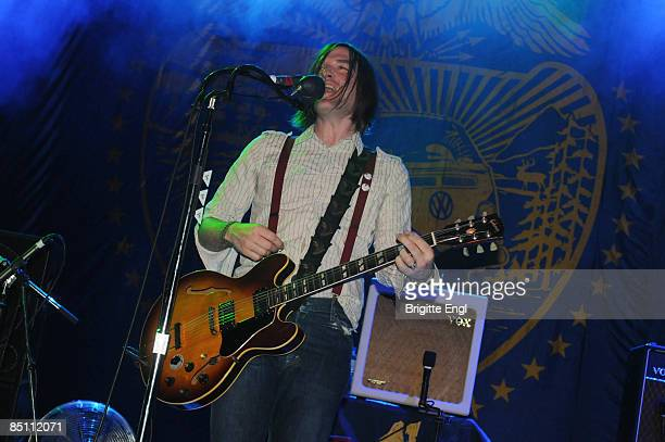 S BUSH EMPIRE Photo of DANDY WARHOLS and Courtney TAYLORTAYLOR Courtney Taylor Taylor performing on stage
