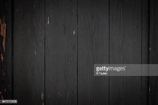 Photo of dark wood background textured