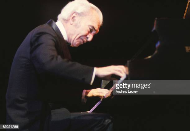 Photo of Dave BRUBECK performing live on stage in New York circa 2000.