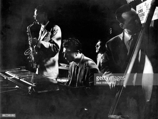 Photo of Dave BRUBECK with his Quartet