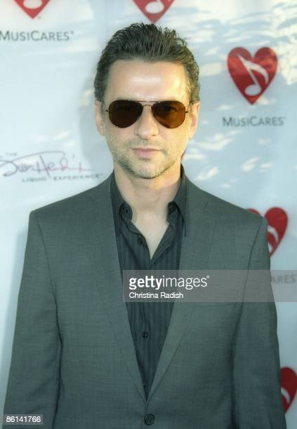 A Photo of Dave GAHAN and DEPECHE MODE APPEARING AT THE MUSICARES MAP FUND BENEFIT CONCERT TO HONOR CHRIS CORNELL AND JEFF MCCLUSKY