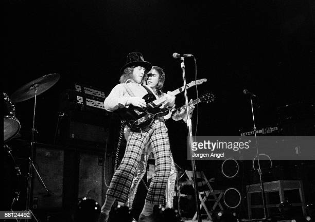 Photo of Dave HILL and Noddy HOLDER and SLADE Noddy Holder Dave Hill