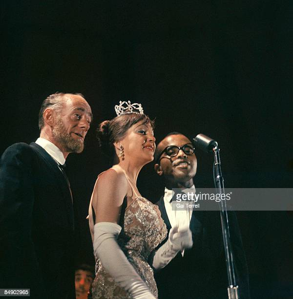 Photo of Dave LAMBERT and LAMBERT HENDRICKS ROSS and Annie ROSS and Jon HENDRICKS Dave Lambert Annie Ross Jon Hendricks