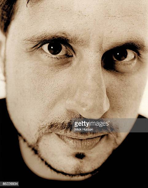 Photo of Dave LOMBARDO and SLAYER Posed portrait of Dave Lombardo