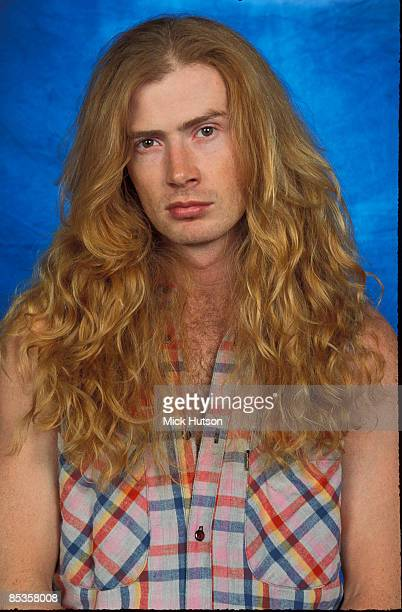 STUDIO Photo of Dave MUSTAINE and MEGADETH Dave Mustaine