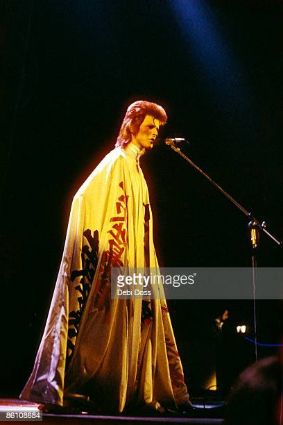 ODEON Photo of David BOWIE performing live onstage at final Ziggy Stardust concert
