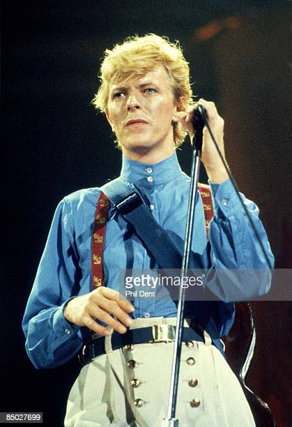 ARENA Photo of David BOWIE performing live onstage on Serious Moonlight tour