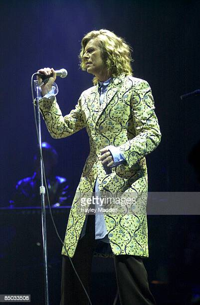 Photo of David BOWIE, performing live onstage