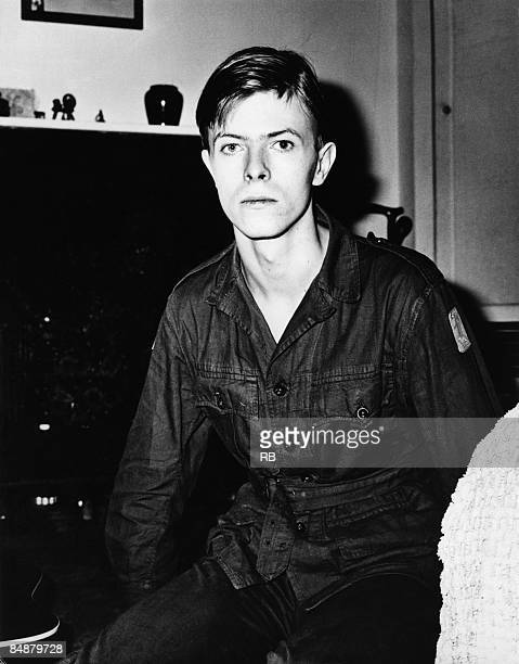 Photo of David BOWIE, posed portrait of David Bowie - at time of appearance in The Virgin Soldiers