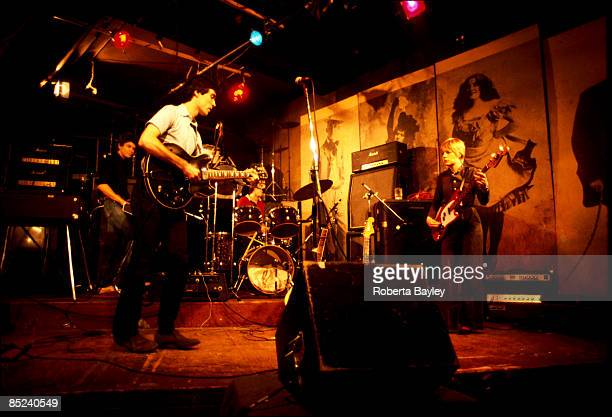 S Photo of David BYRNE and TALKING HEADS and Tina WEYMOUTH and Chris FRANTZ LR Jerry Harrison David Byrne Chris Frantz Tina Weymouth
