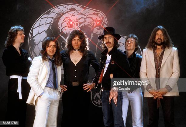 CAMDEN Photo of David COVERDALE and David DOWLE and Jon LORD and Neil MURRAY and WHITESNAKE and Micky MOODY and Bernie MARSDEN LR Neil Murray Bernie...