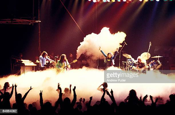 POOL Photo of David COVERDALE and Glenn HUGHES and Jon LORD and DRY ICE and AUDIENCE and CONCERT and DEEP PURPLE and Ian PAICE LR Jon Lord Glenn...