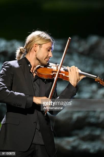 HALL Photo of David GARRETT Violinist David Garrett performing on stage at the Classical Brit Awards